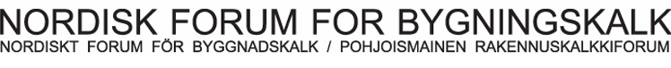 Logo Nordisk Forum For Bygningskalk